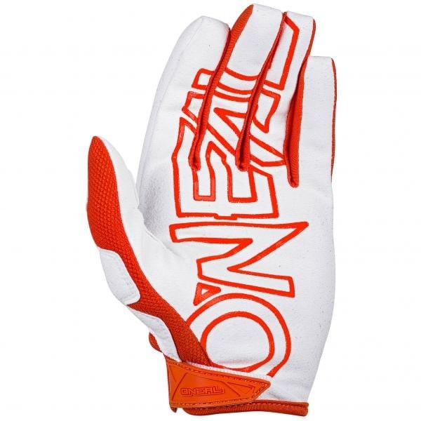 GUANTE ONEAL MAYHEM TWO-FACE WHITE/ORANGE ADULTO