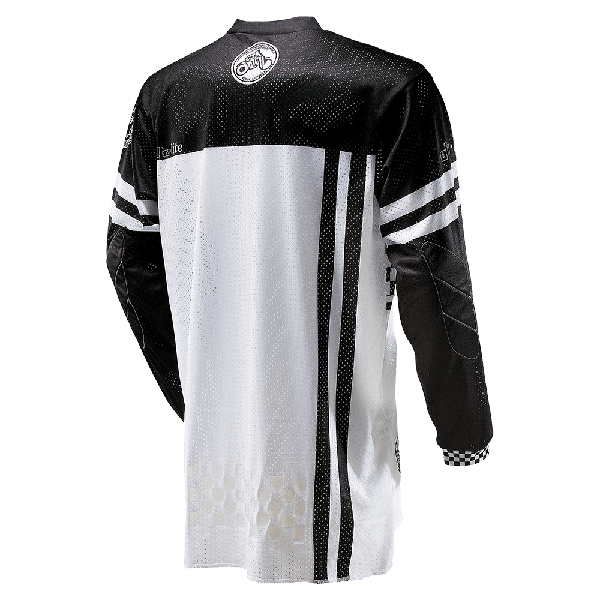 CAMISETA ULTRA LITE '70 BLACK/WHITE ONEAL ADULTO