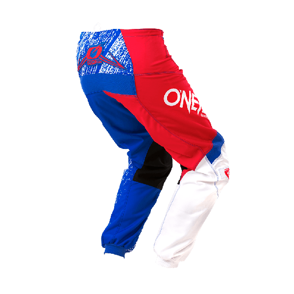 PANTALON ONEAL ELEMENT BURNOUT RED/WHITE/BLUE  ADULTO