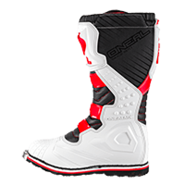BOTAS ONEAL RIDER BOOT RED/WHITE ADULTO