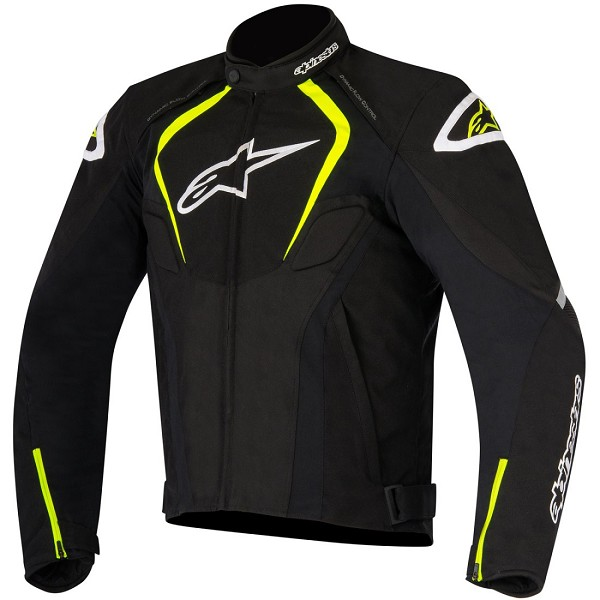 CHAQUETA T-JAWS WATERPROOF ALPINESTARS BLACK/YELLOW/FLUOR