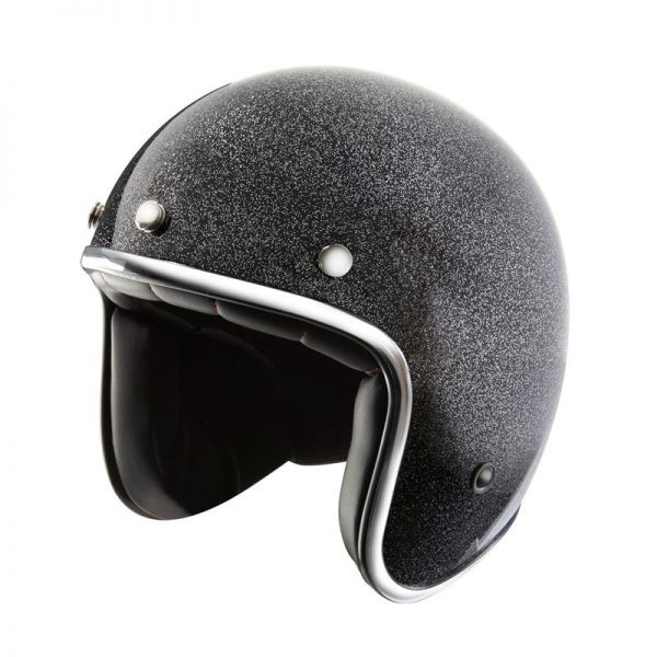 CASCO NOX N242 GLITTER BLACK
